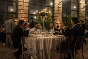 8. Dinner with customers and partners