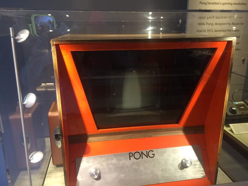 One of the first Video Game, Pong
