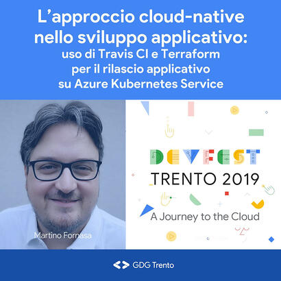 Kiratech-Gold-Sponsor-DevFest-Trento-Martino-Fornasa-speech