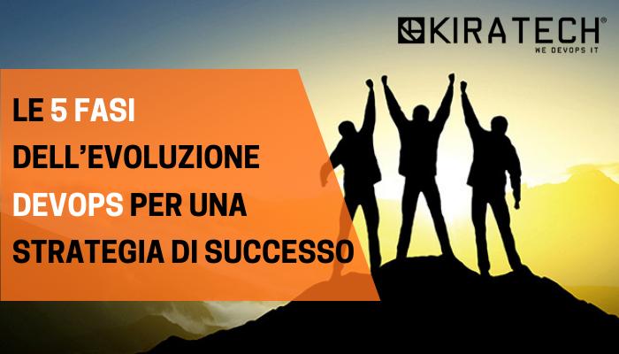 Le 5 fasi dell'evoluzione DevOps per una strategia di successo