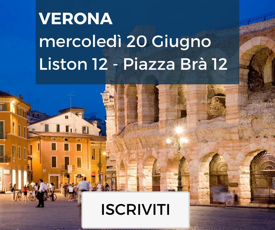 Verona, mercoledì 20 Giugno Liston 12 - Piazza Brà 12