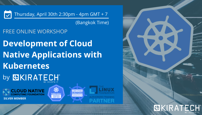 Free Online Workshop - Development of Cloud Native Applications with Kubernetes (for Asian market)